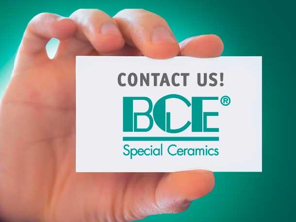 Kontakt zur BCE Special Ceramics GmbH – Keramik GmbH
