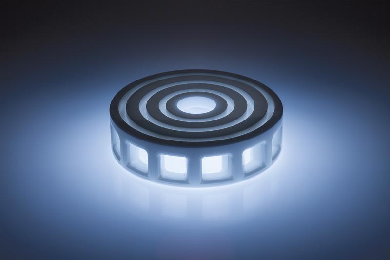Attritorrad aus technischer Keramik für den Einsatz in der Messtechnik