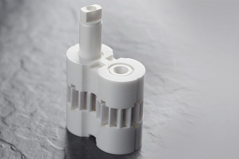 Zahnradpumpe aus Hochleistungskeramik für den Einsatz in der chemischen Industrie