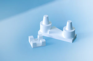 Kalibrierkörper für optische Messsysteme im Dentalbereich