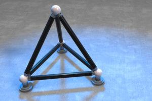 Tetronom zur optischen Messmittelkalibrierung