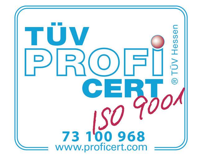 ISO-9001 Zertifikat für BCE Special Ceramics